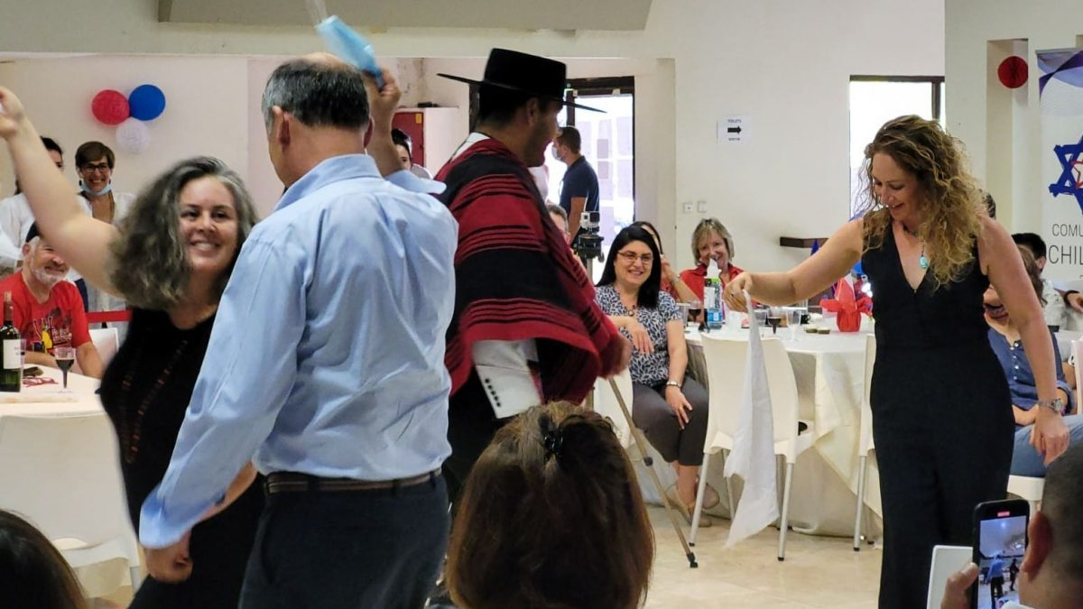 Chilenos en Israel Celebran el 18 de septiembre